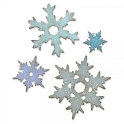 Sizzix Bigz L Die - Stacked Snowflakes