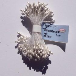 Mazzetto da 288 pistilli 2mm bianco