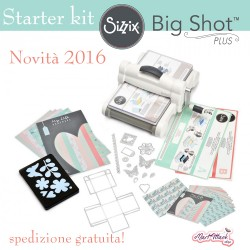 Sizzix big shot plus starter kit A4 2016