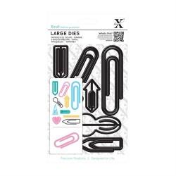 XCUT Large Die - Paper clips