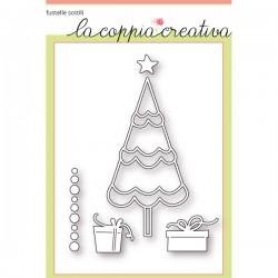 Fustelle la coppia creativa Albero di Natale