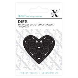 XCUT Mini Die - (1pz) Filigree Heart