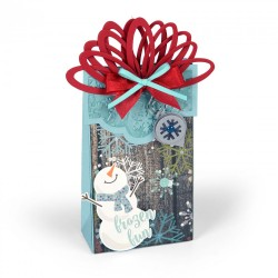 Sizzix Bigz XL Die - Bag w/Layering Flaps & Seasonal Tags