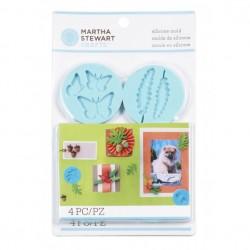 Set 4 stampi silicone Martha Stewart