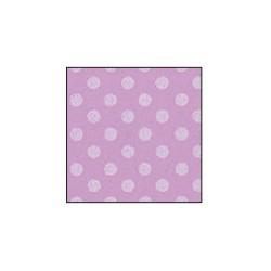 Foglio Gomma Crepla 2mm Glicine pastello / Pois bianco 40x60cm