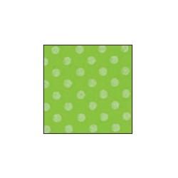 Foglio Gomma Crepla 2mm Verde acqua pastello / Pois bianco 40x60cm