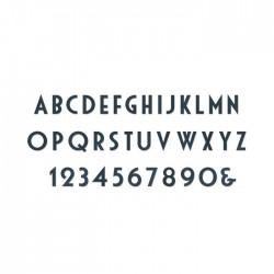 Sizzix Bigz XL Alphabet Die - Deco