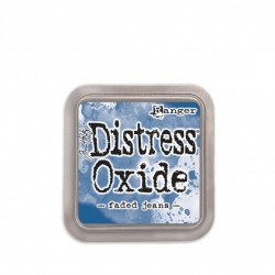 Ranger Tim Holtz distress oxide faded jeans