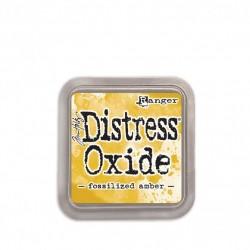 Ranger Tim Holtz distress oxide fossilized amber