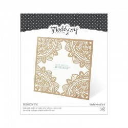 Fustella Modascrap Oriental card