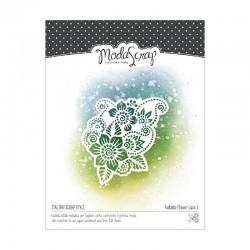 Fustelle Modascrap Flower lace 1