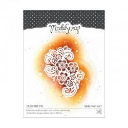 Fustelle Modascrap Flower lace 2
