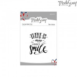 Clear Stamp Modascrap SMILE