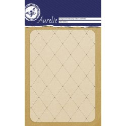 Embossing Folder Aurelie Stitches Background