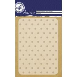 Embossing Folder Aurelie Grunge Dots Background