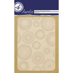Embossing Folder Aurelie Dotted Circles Background