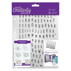 A5 Clear Stamp Set (128pz) - Alphas Folk