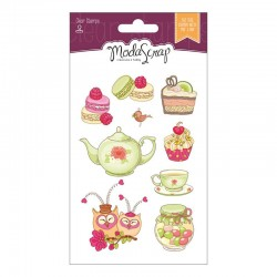 Set Clear Stamps Modascrap CUCINA WITH LOVE