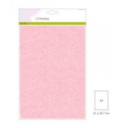 Carta Perlata x10 fogli A4 250gr baby pink