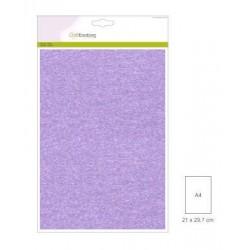 Carta Perlata x10 fogli A4 250gr viola