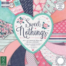 "First edition Paper pad sweet nothing 12""x12"""