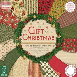 "First edition Paper pad The Gift of Christmas 12""x12"""