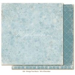 "Carta 12""x12"" Vintage Frost Basics - 9th of Dec"