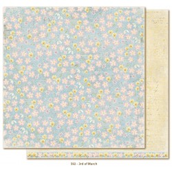 "Carta 12""x12"" Vintage Spring Basics - 3rd of March"