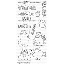 Set di timbri My Favorite Things Polar Bear Pals