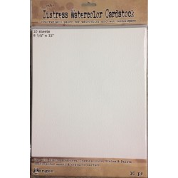 Ranger Tim Holtz distress watercolor cardstock- Carta per colori acquerellabili