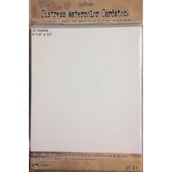 Ranger Tim Holtz distress watercolor cardstock- Carta per colori acquerellabili