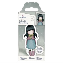 Collectable Rubber Stamp - Santoro - No. 52 Waiting