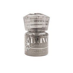 Nuvo embossing powder - Polvere da embossing classic silver