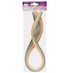 3mm Paper Strips (108pz) - Pastello (18 colori)