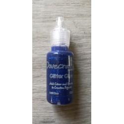 Dovecraft Glitter Glue Topaz Midnight