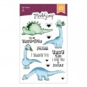 Clear Stamps Modascrap DINO LAND 2