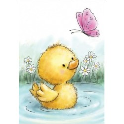 Timbro Clear Stamp Wild Rose Studio Little duck