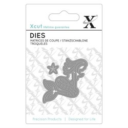 XCUT Mini Die Set-Mermaid