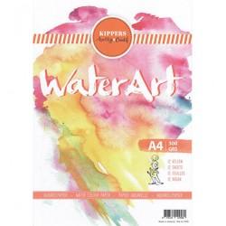 Carta per colori acquerellabili - Aquarel Papier A4 300gr