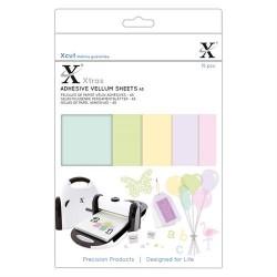 Xcut Xtras' A5 Adhesive Vellum Sheets - 15 Fogli adesivi di Vellum A5