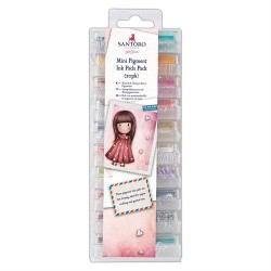 Mini Ink Pads Pack (20pz) - Santoro