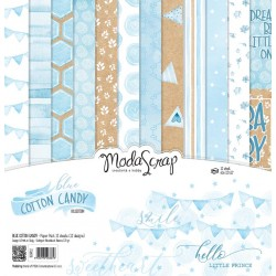 Paper pack Modascrap Blue Cotton Cnady 30x30cm