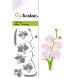 CraftEmotions Die CraftEmotions Die -  Romantic orchid