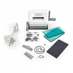 SIZZIX SIDEKICK STARTER KIT (WHITE & GRAY) 661770