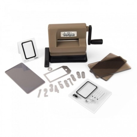 Sizzix Sidekick Starter Kit (Brown & Black) featuring Tim Holtz designs