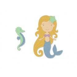 Sizzix Thinlits Die Set 6PK- Mermaid - Sirenetta