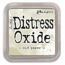Ranger Tim Holtz distress oxide old paper