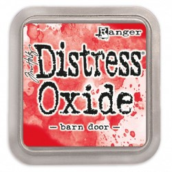 Ranger Tim Holtz distress oxide barn door