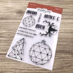 Clear Stamps Modascrap CHRISTMAS BALL
