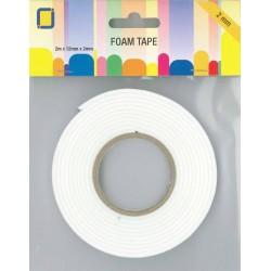 Foam Tape 2 m x 12 mm x 2 mm